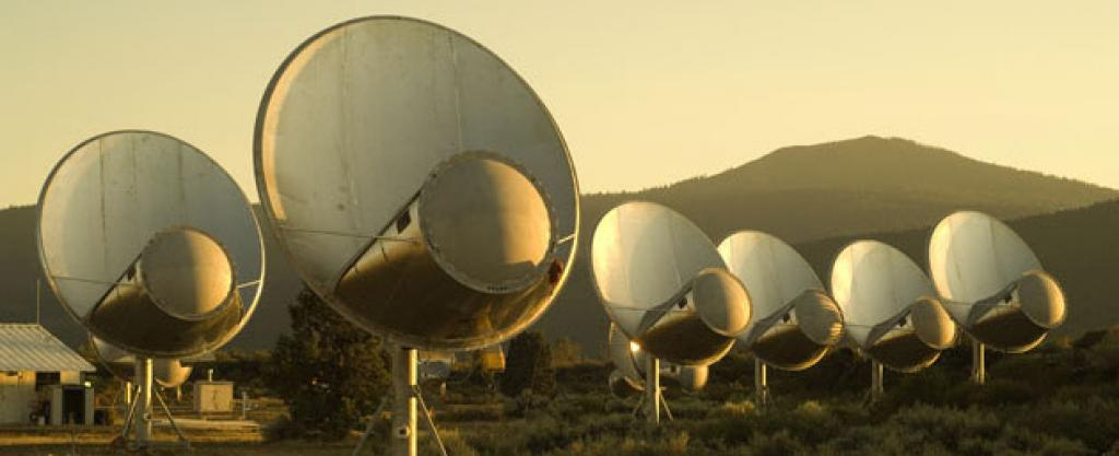 The Allen Telescope Array (Seth Shostak/SETI)